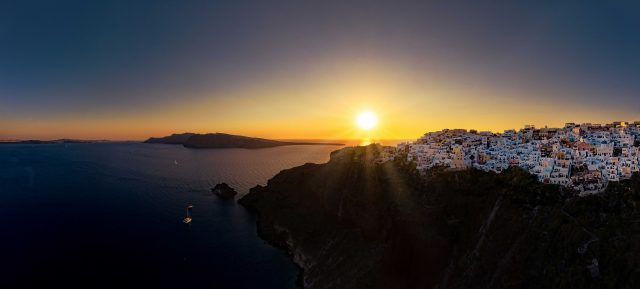 Santorini Sundown Oia Greece